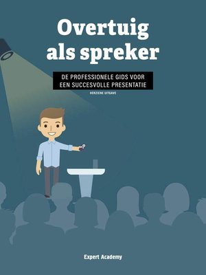 cover image of Overtuig als Spreker