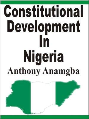 cover image of Constitutional Development in Nigeria
