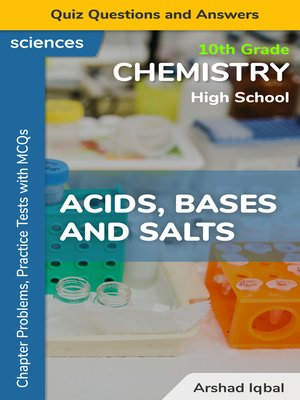 cover image of Acids, Bases and Salts Multiple Choice Questions and Answers (MCQs)