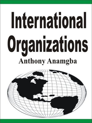 cover image of International Organizations