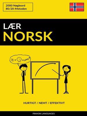 cover image of Lær Norsk