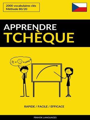 cover image of Apprendre le tchèque