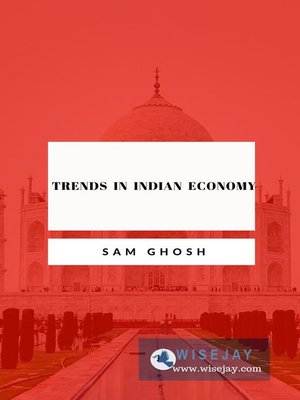 cover image of Trends in Indian Economy