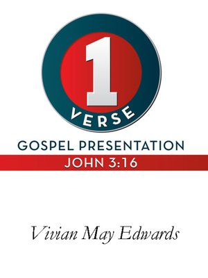 cover image of 1 Verse Gospel Presentation John 3