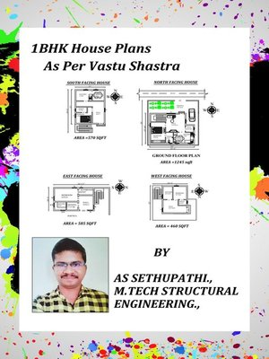 cover image of 1BHK House Plans As Per Vastu Shastra