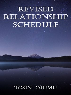cover image of Revised Relationship Schedule