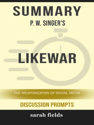 cover image of Summary of LikeWar