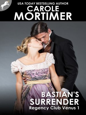 cover image of Bastian's Surrender (Regency Club Venus 1)