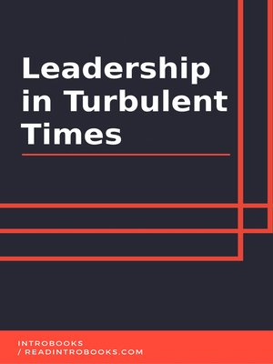 cover image of Leadership in Turbulent Times