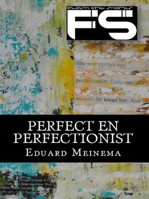 cover image of Perfect en perfectionist