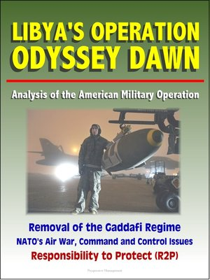 cover image of Libya's Operation Odyssey Dawn