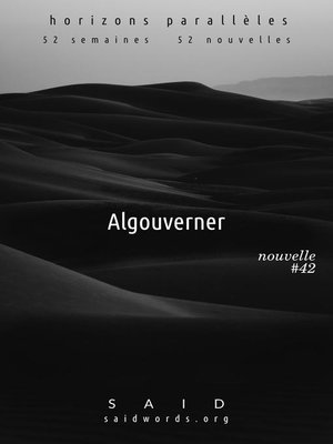 cover image of Algouverner