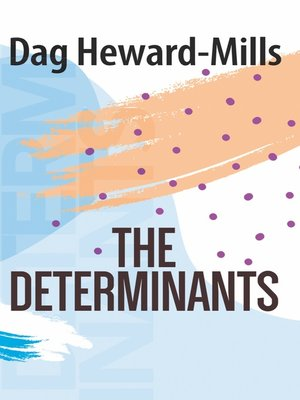 cover image of The Determinants