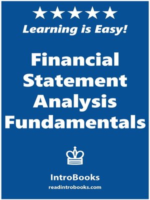 cover image of Financial Statement Analysis Fundamentals