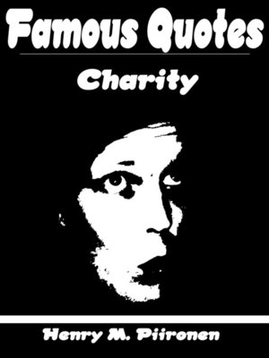 cover image of Famous Quotes on Charity