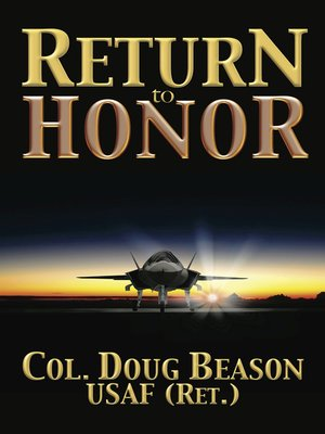 cover image of Return to Honor