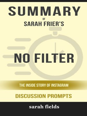cover image of Summary of No Filter