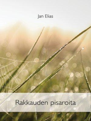 cover image of Rakkauden pisaroita