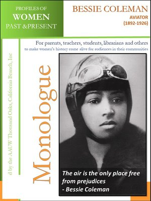 cover image of Profiles of Women Past & Present – Bessie Coleman, Aviator (1892-1926)