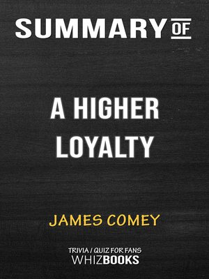 cover image of Summary of a Higher Loyalty