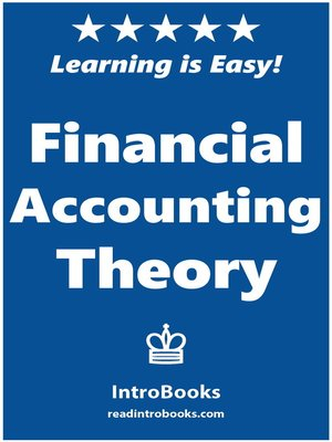 cover image of Financial Accounting Theory