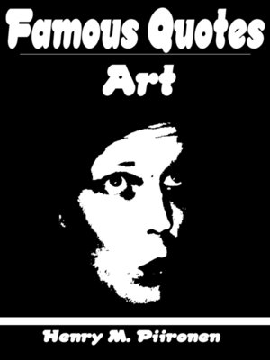 cover image of Famous Art Quotes