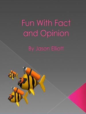 cover image of Fun With Fact and Opinion