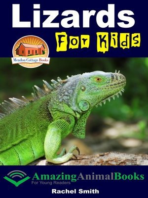 cover image of Lizards For Kids