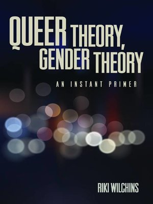cover image of Queer Theory, Gender Theory