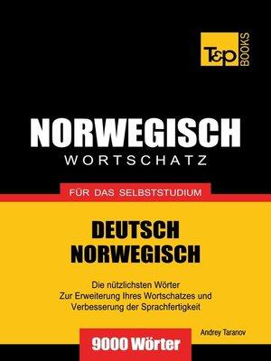 cover image of Wortschatz Deutsch-Norwegisch für das Selbststudium