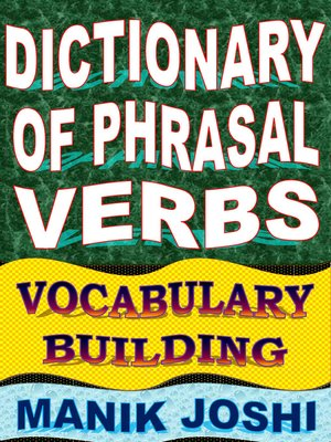 cover image of Dictionary of Phrasal Verbs