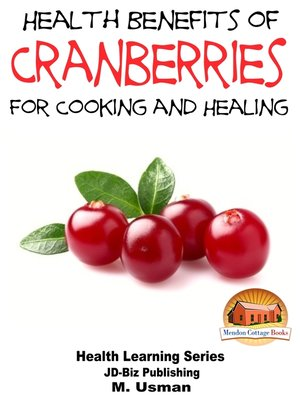 cover image of Health Benefits of Cranberries