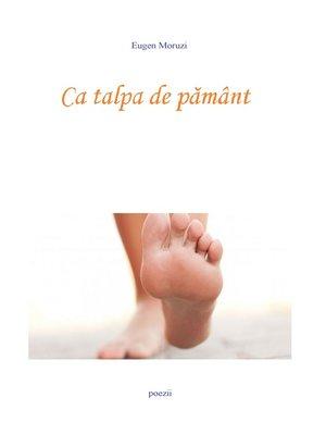 cover image of Ca talpa de pamant