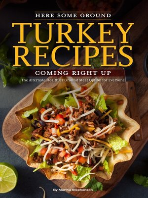 cover image of Here Some Ground Turkey Recipes Coming Right Up