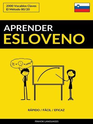 cover image of Aprender Esloveno