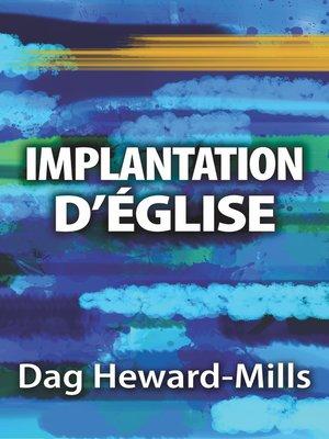 cover image of Implantation d'églises
