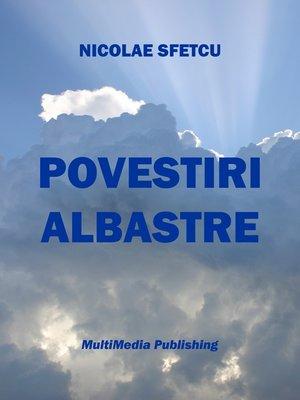 cover image of Povestiri albastre