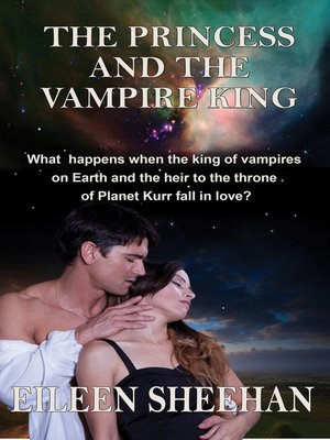 cover image of The Princess and the Vampire King