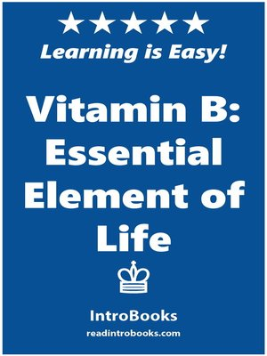 cover image of Vitamin B