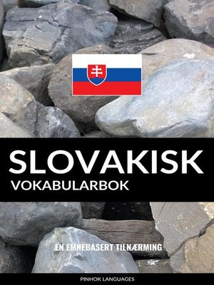 cover image of Slovakisk Vokabularbok