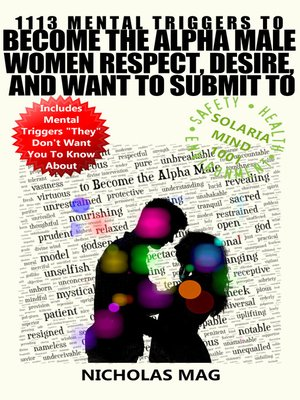cover image of 1113 Mental Triggers to Become the Alpha Male Women Respect, Desire, and Want to Submit To
