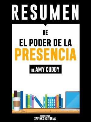 cover image of El Poder De La Presencia (Presence)