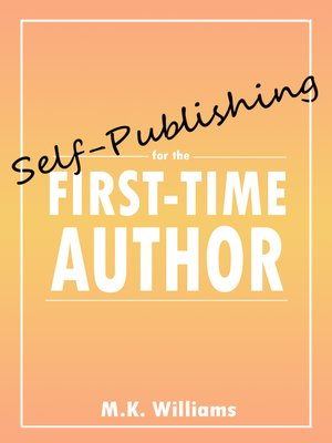 cover image of Self-Publishing for the First-Time Author
