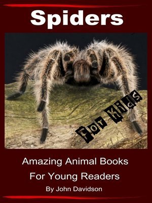cover image of Spiders for Kids