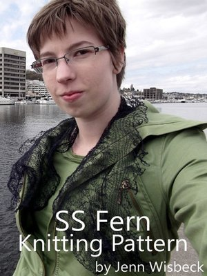 cover image of SS Fern Stainless Steel Lace Knitting Pattern