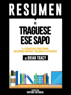 cover image of Tráguese Ese Sapo