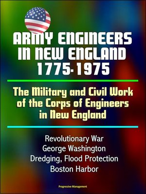 cover image of Army Engineers in New England 1775-1975