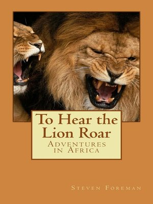 cover image of To Hear the Lion Roar