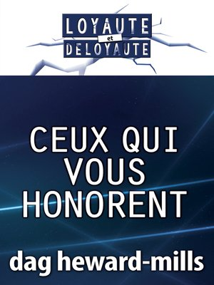 cover image of Ceux qui vous honorent