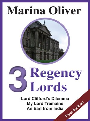 cover image of 3 Regency Lords
